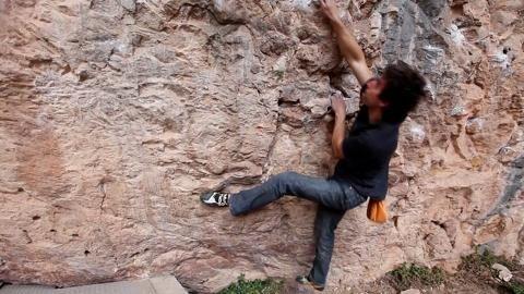 Joe Kinder climbing Essentials: Hooks