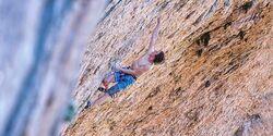 KL Adam Ondra klettert in Santa Linya