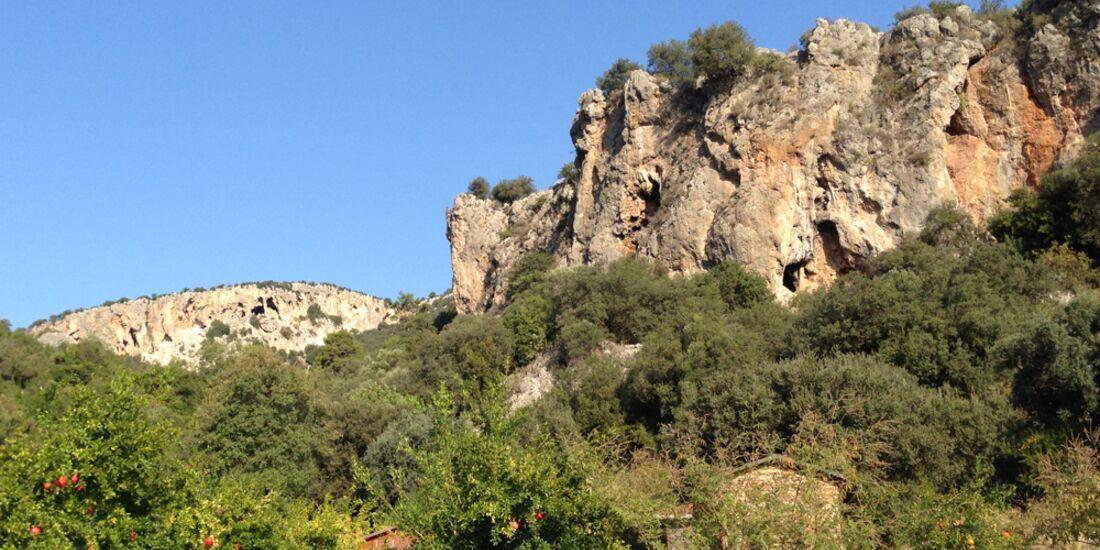 KL Blick auf Geyikbayiri + Granatapfel-Feld