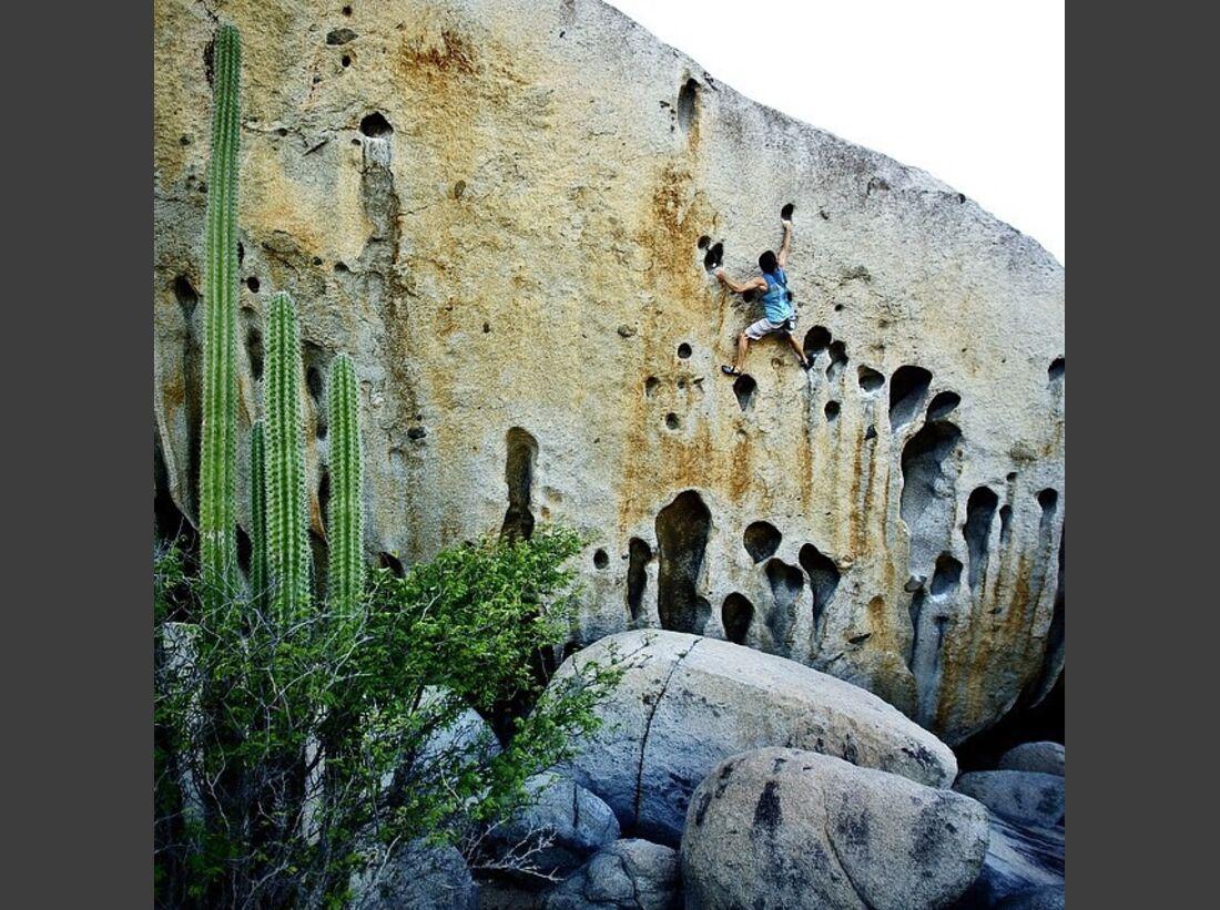 KL Chris Sharma Instagram bouldering Aruba