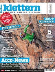 KL Das neue Heft April 2013 klettern Cover Titel