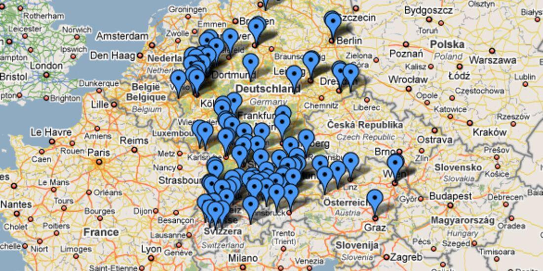KL Googlekarte Kletterhallen Teaser