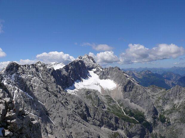 KL Höllentalferner Gletscher