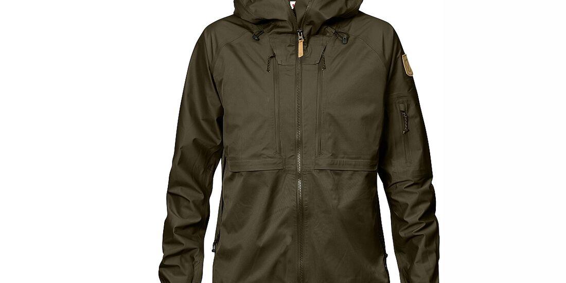 KL-ISPO-Kletter-Equipment-Fjällräven-Eco-Shell-Jacket
