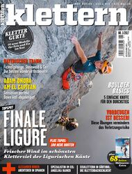 KL Klettern Heft Titel Cover 1-2017