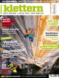 KL Klettern Magazin Titel Juni 2012