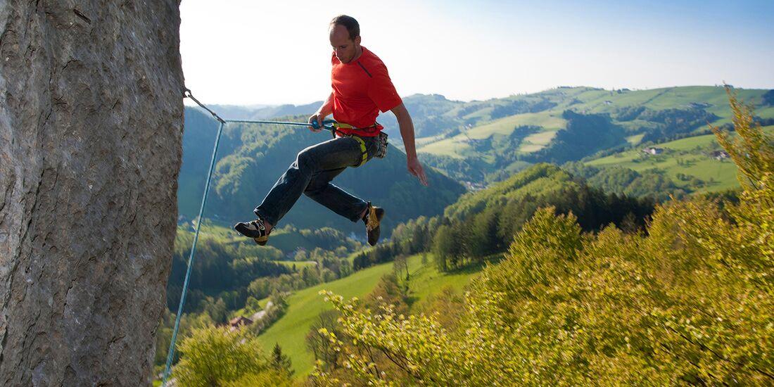 KL Klettern im Ennstal - Sportklettersturz