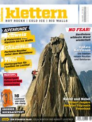 KL Magazin klettern Titel Juli/August 2012