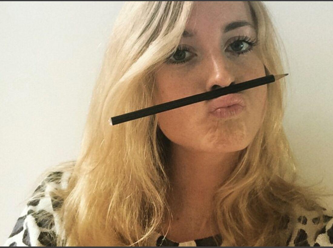 KL Matilda Söderlund im Prüfungsstress Instagram