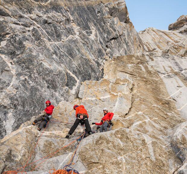 KL Nicoas Favresse & Co Erstbegehung Thagas Valley, Pakistan