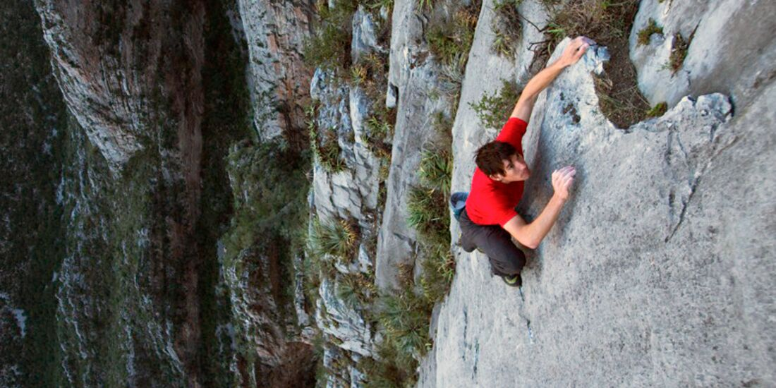 KL TEaserbild EOFT Open Air Kino Tour Alex Honnold Sendero Luminoso