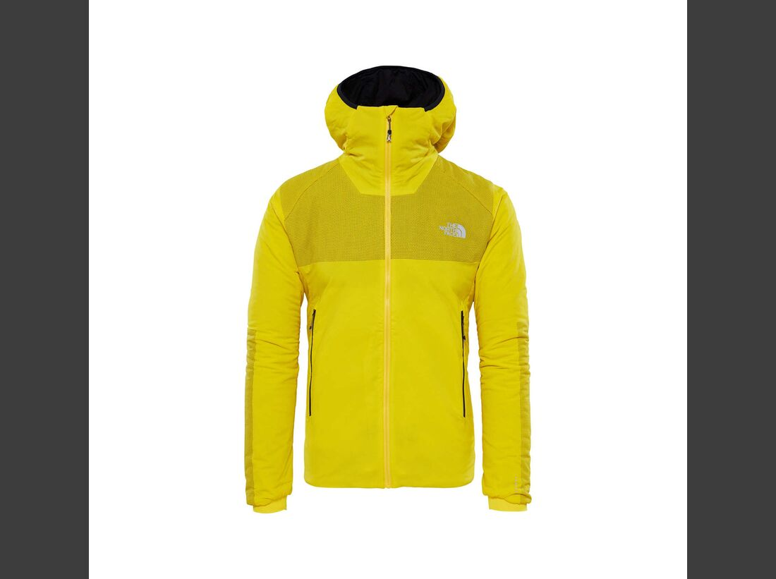 KL The North Face Ventrix Hooded Jacket gelb
