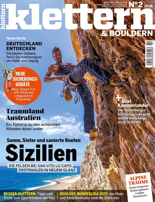 KL Titel Cover klettern 2-2018