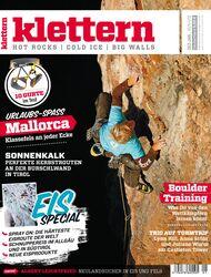 KL Titel Klettern Magazin 12-2011/01-2012