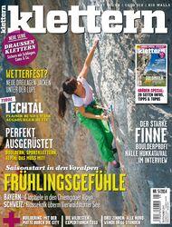 KL Titel cover klettern Magazin Mai 2014 - 5-2014
