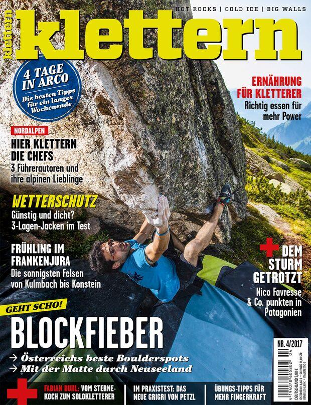 KL klettern 4 - 2017 Cover Titel