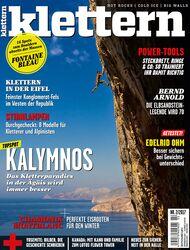KL klettern Magazin 02 - 2017 titel cover groß