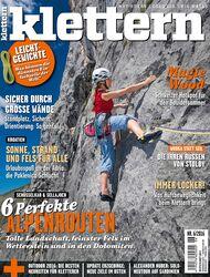 KL klettern Magazin 06 - 2016 Titel Cover +68