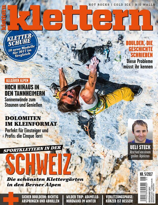 KL klettern Magazin 5- 2017