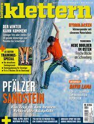 KL klettern Magazin 8 - 2018 cover titel