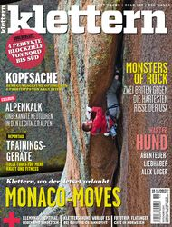 KL klettern Magazin Cover Okt+Nov 2013 Titel