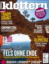 KL klettern Magazin Titel Cover April 2014 ohne Teaserversion