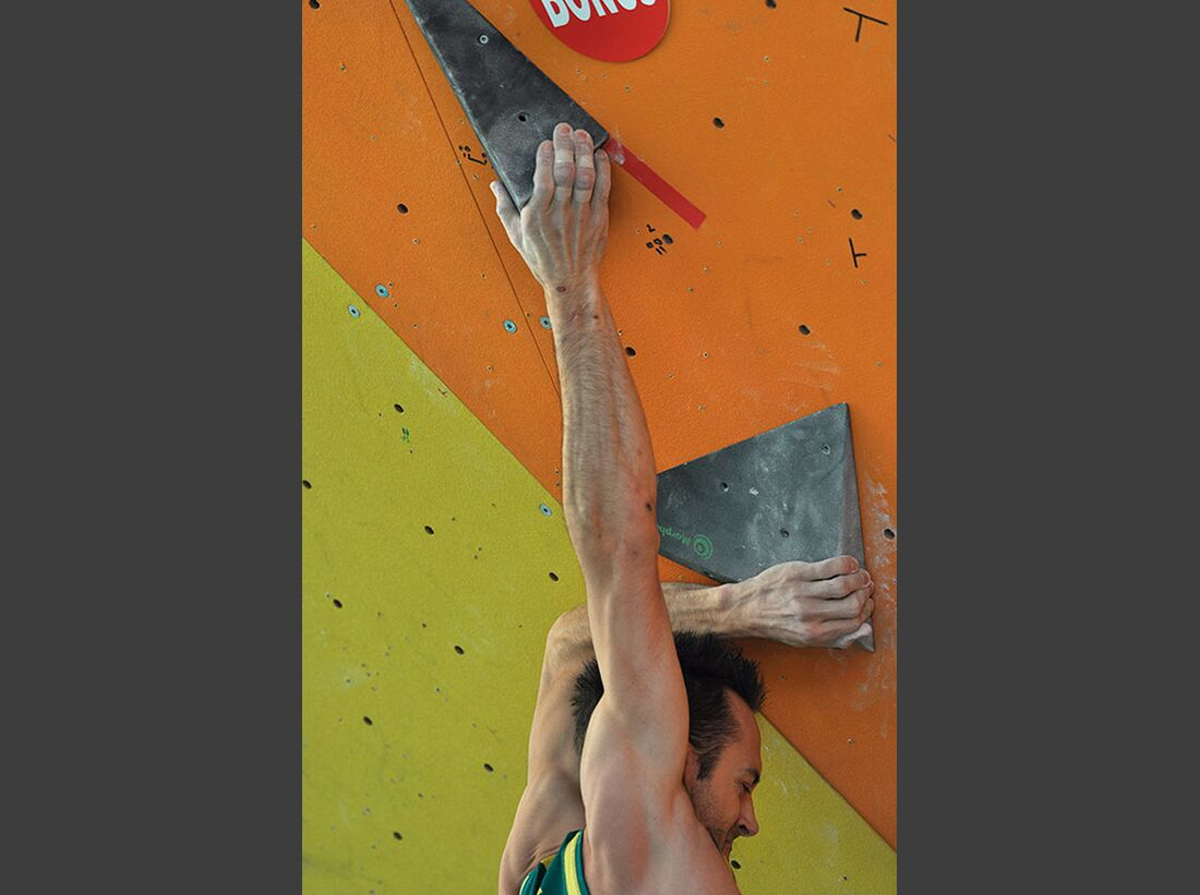 Kletter-Wettkampf: Rock Master Arco am Gardasee (Bilder International Open Boulder) 15