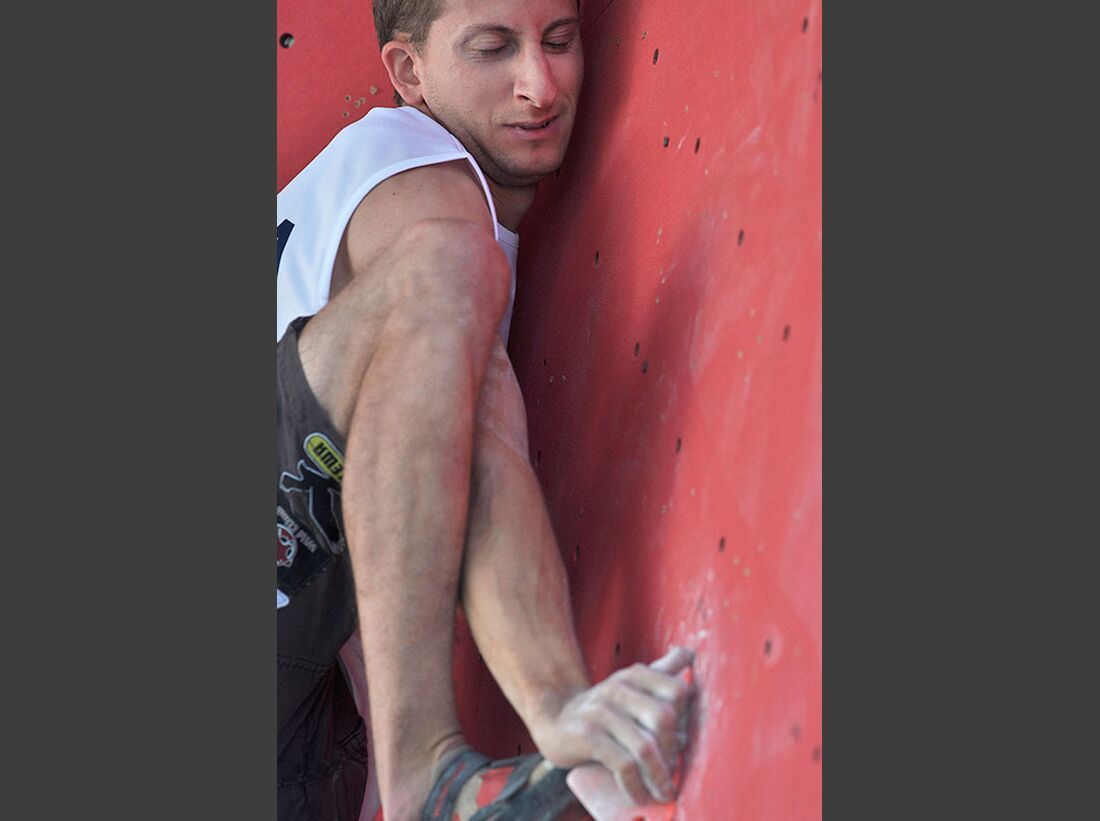 Kletter-Wettkampf: Rock Master Arco am Gardasee (Bilder International Open Boulder) 29