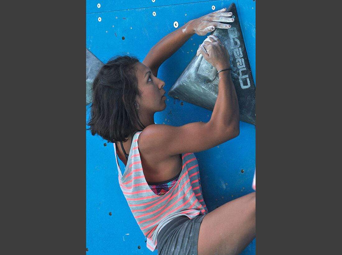 Kletter-Wettkampf: Rock Master Arco am Gardasee (Bilder International Open Boulder) 34