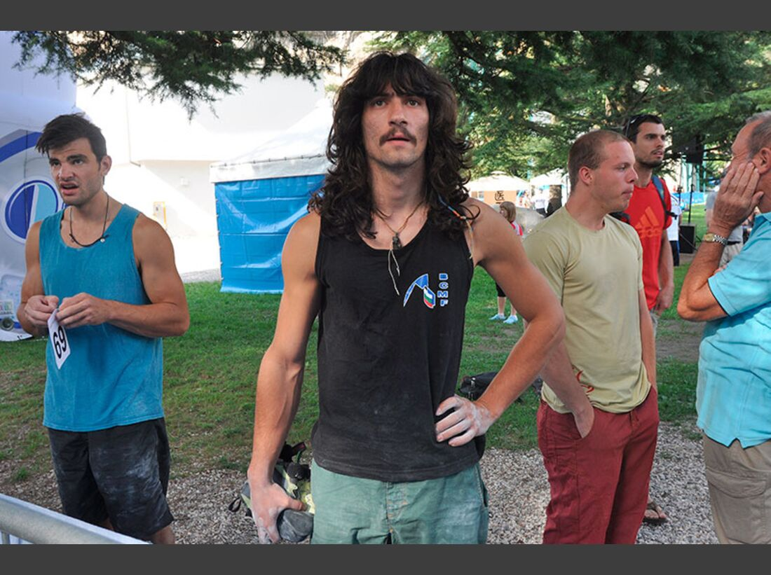 Kletter-Wettkampf: Rock Master Arco am Gardasee (Bilder International Open Boulder) 36