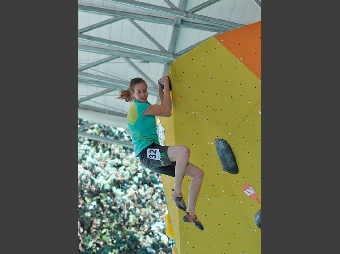 Kletter-Wettkampf: Rock Master Arco am Gardasee (Bilder International Open Boulder) 37