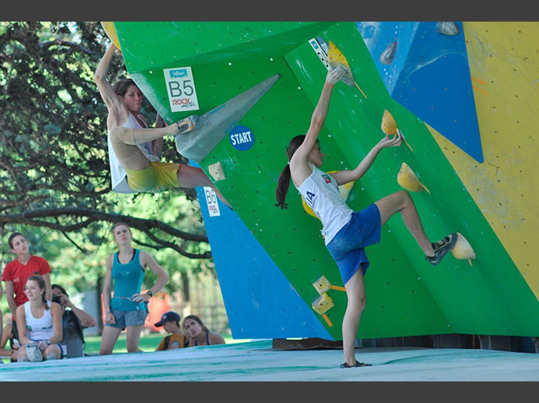 Kletter-Wettkampf: Rock Master Arco am Gardasee (Bilder International Open Boulder) 38