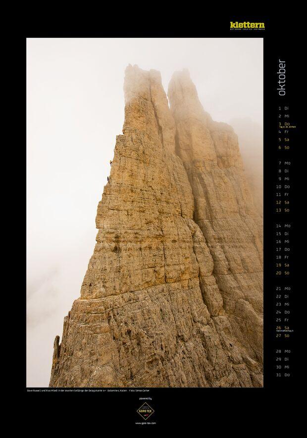 Klettern 2013 - Kalenderbilder 13