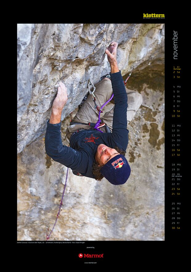 Klettern 2013 - Kalenderbilder 14