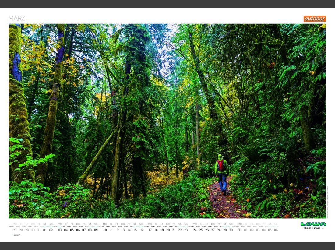 Sportkalender 2014 - klettern, outdoor, Mountainbike 20