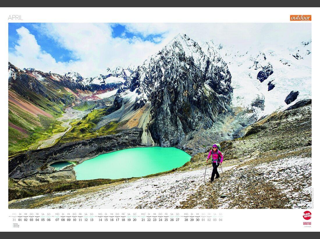 Sportkalender 2014 - klettern, outdoor, Mountainbike 21
