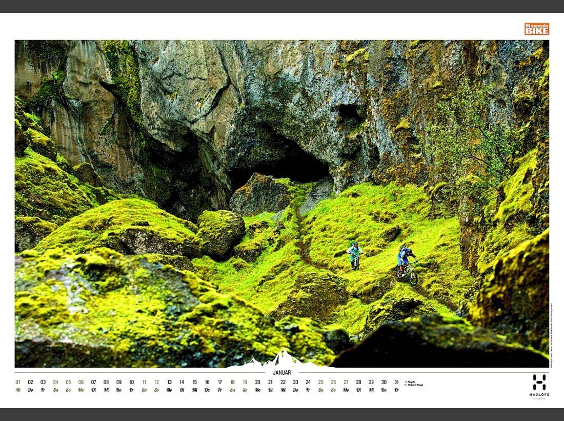 Sportkalender 2014 - klettern, outdoor, Mountainbike 31