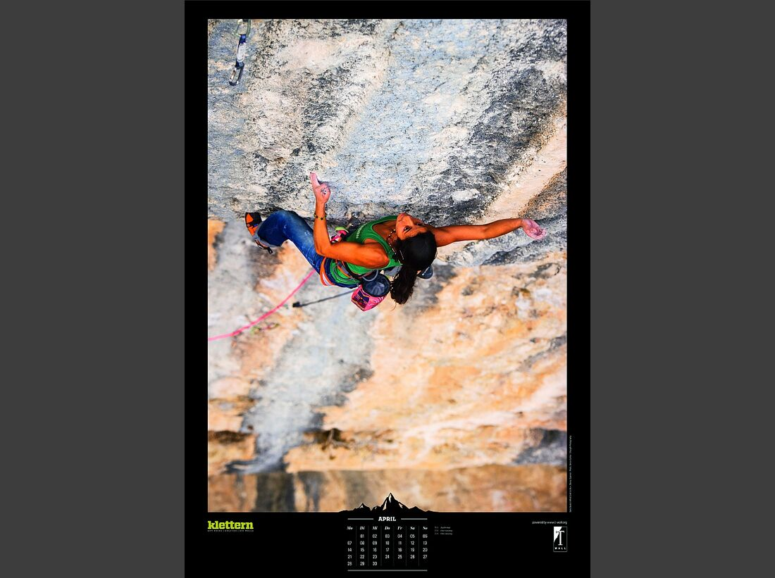 Sportkalender 2014 - klettern, outdoor, Mountainbike 8