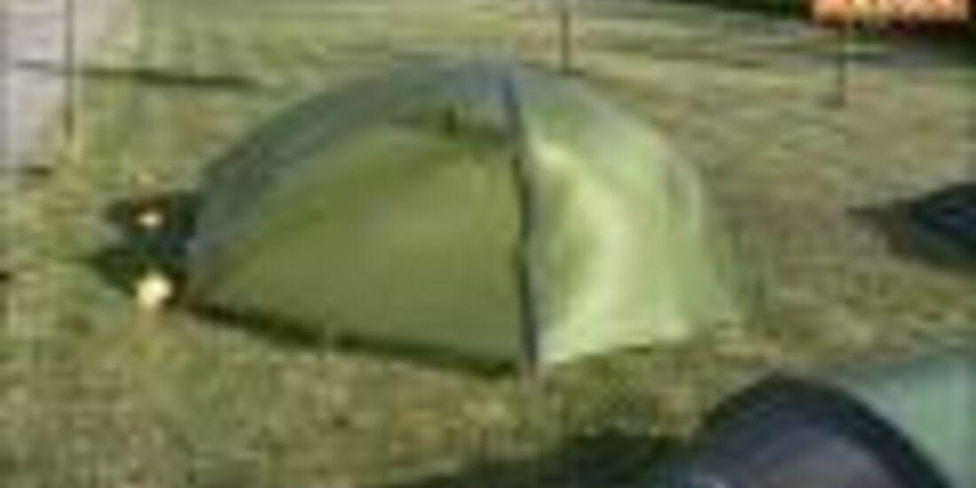 Zelttest 2011: Exped Venus 2 UL (ohne Werbung)