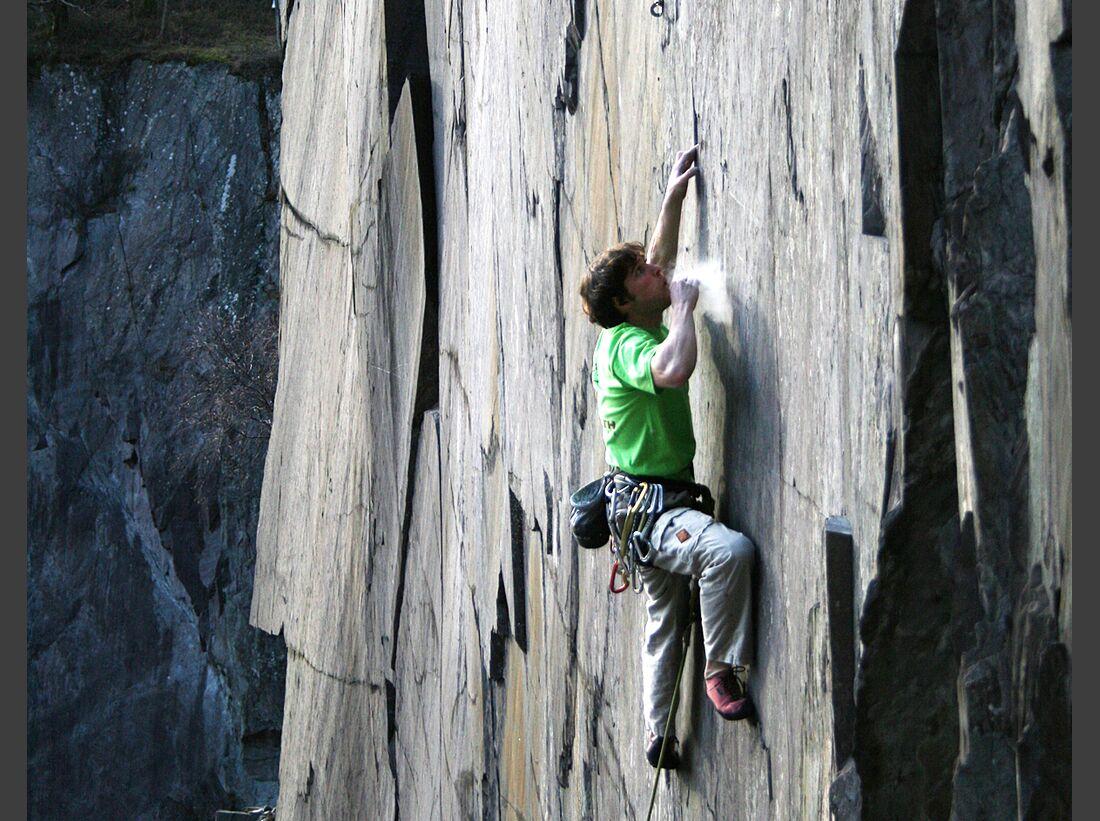 kl besser klettern tipps klettertipps pete robins wales quarries mysogenist discharge 8a