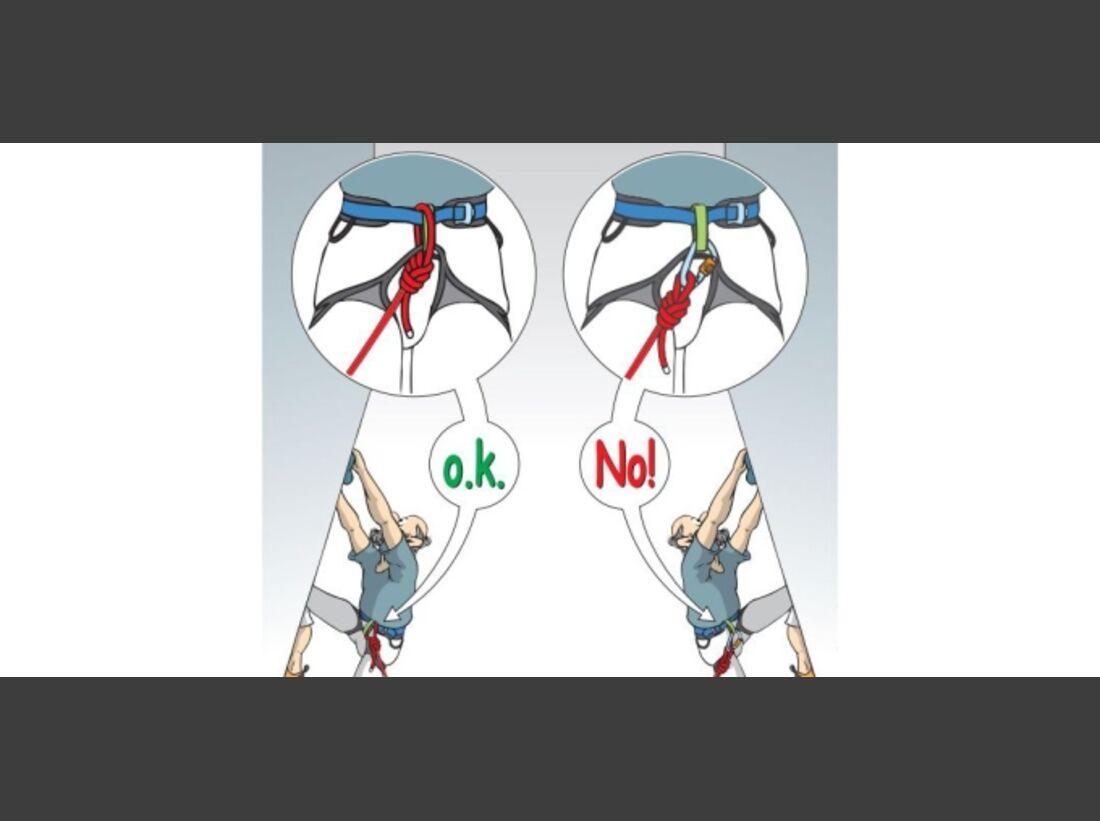 kl-dav-kletter-regeln-cartoon-Im-Vorstieg-direkt-einbinden (JPG)